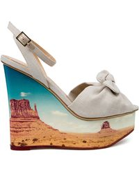 Charlotte Olympia 'Panoramic Miranda' Sandals - Lyst