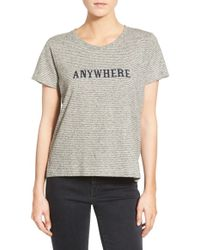 Madewell | 'anywhere' Graphic Tee | Lyst
