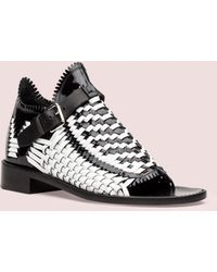 Proenza Schouler Woven Leather Sandal - Lyst