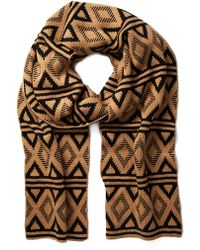 Forever 21 - Diamond-patterned Scarf - Lyst
