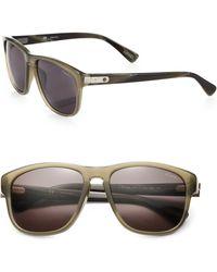 Lanvin Printed Wayfarer Sunglasses - Lyst