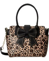Betsey Johnson Sincerely Yours Tote - Lyst
