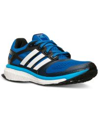 Adidas Men'S Energy Boost 2.0 Running Sneakers From Finish Line - Lyst