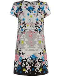 Oasis Oriental Blossom Shift Dress - Lyst