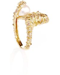 Amsterdam Sauer X Bianca Brandolini - One Of A Kind Sea Horse Ring - Lyst