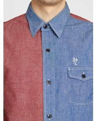 Garbstore Selvedge Chambray Army Shirt - Lyst
