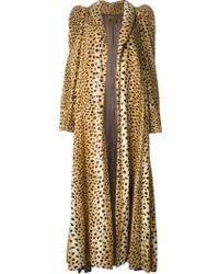 Biba - Leopard Print Coat - Lyst