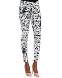 J Brand Labyrinth Printed Skinny-Fit Jeans - Lyst