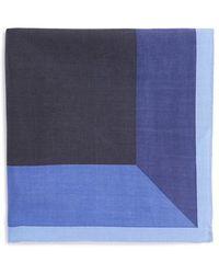 Calibrate - 'renoir' Silk Pocket Square - Lyst