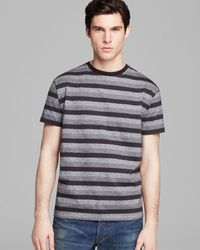 Marc By Marc Jacobs Vaughn Melange Stripe Tee - Lyst