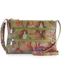 Hobo Mara Exotic Snakeprint Crossbody Bag - Lyst