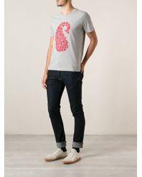 Paul & Joe Nipou Embroidered T-Shirt - Lyst