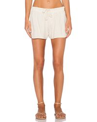 James Perse Dolphin Shorts gray - Lyst