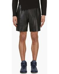 Surface To Air Black Leather V3 Boxing Shorts - Lyst