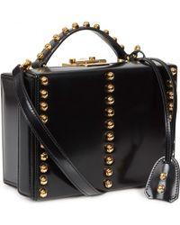 Mark Cross - Grace Studded Leather Box Bag - Lyst