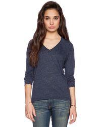 Velvet By Graham & Spencer Soft Texture Knit Topaz Top - Lyst