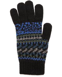 Paul Smith - Fair Isle Gloves - Lyst
