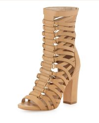 Pour La Victoire Chunky Gladiator Bootie - Lyst