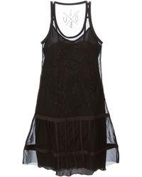 Diesel Black Gold D-Jamila Embellished Dress - Lyst