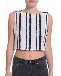 A.L.C. Kelly Stripe Crop Top - Lyst