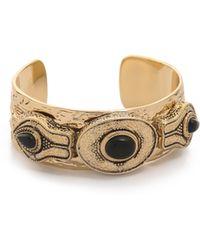 Samantha Wills - The Villa Cuff Bracelet - Antique Gold Multi - Lyst