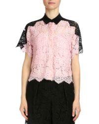 Erdem - Berry Scalloped Lace Shirt - Lyst