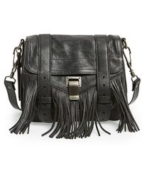 Proenza Schouler Women'S 'Ps1' Fringed Crossbody Pouch  - Lyst