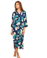 Ellen Tracy Autumn Spirit Long Caftan - Lyst