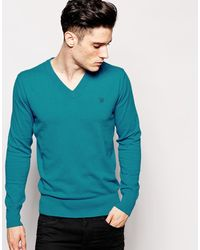 Diesel V Neck Sweater - Lyst