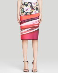 Clover Canyon Skirt - Botanical Wave Reversible - Lyst