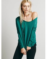 Free People Buckley Drape Top - Lyst