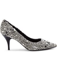 Giambattista Valli Tweed Pumps - Lyst