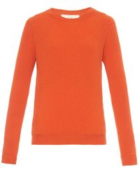 Esk | Maggie Ribbed-Knit Cashmere Sweater | Lyst