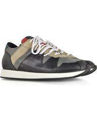 Kris Van Assche - Multi Black Hiking Sneaker - Lyst