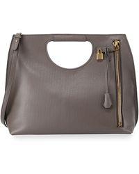 Tom Ford Alix Zip & Padlock Shopper Tote Bag - Lyst
