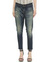 Rag & Bone Slouchy Trouser Jeans  - Lyst