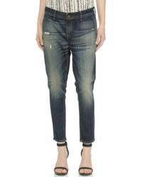 Rag & Bone Slouchy Trouser Jeans - Mateos - Lyst