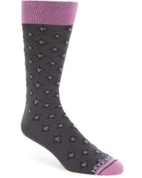 Hook + Albert - Diamond Socks - Lyst