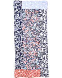 Diane von Furstenberg New Boomerang Flower Scarf - Pottery Flower Multi - Lyst