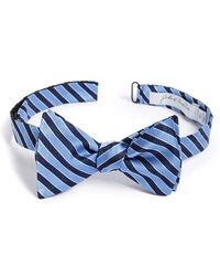 John W. Nordstrom - 'scotts' Stripe Silk Bow Tie - Lyst