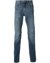 Boss by Hugo Boss Blue Skinny Jeans - Lyst