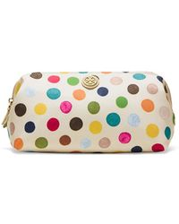 Tory Burch Printed Nylon Large Molded Cosmetic Case - Lyst