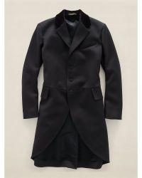 RRL Velvet-Collar Wool Tailcoat - Lyst