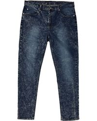 Cheap Monday Dropped Jeans In Tapered Jeans - Lyst