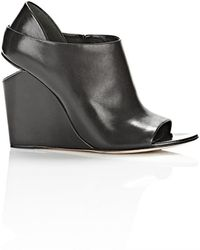 Alexander Wang Alla Wedge with Rhodium - Lyst