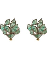 Nak Armstrong - Button Stud Earrings - Lyst