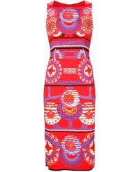 Peter Pilotto | Kia Patterned Woven Dress | Lyst