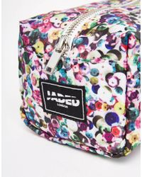 Jaded London | Multicoloured Sequin Print Make-up Bag | Lyst