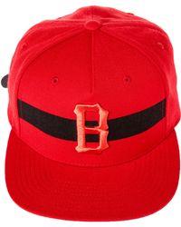 6da8994a0ea Black Scale - The Streak Strap Back Hat - Lyst