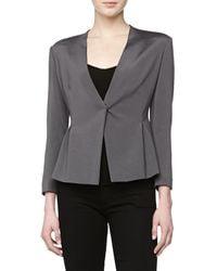 Donna Karan New York V-neck Cardigan Jacket - Lyst